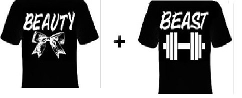 bde23de7da TShirts: Beauty and the Beast tee Couples cute t shirts Cool Funny couple  HIS HERS