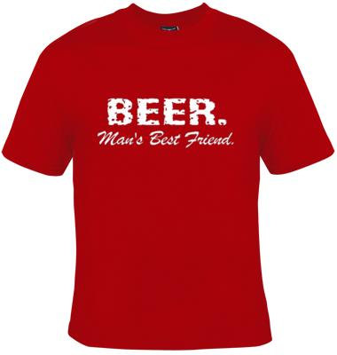 Tshirts: Beer Mans Best Friend Gift Tee T Shirts Cool Funny Humor ...